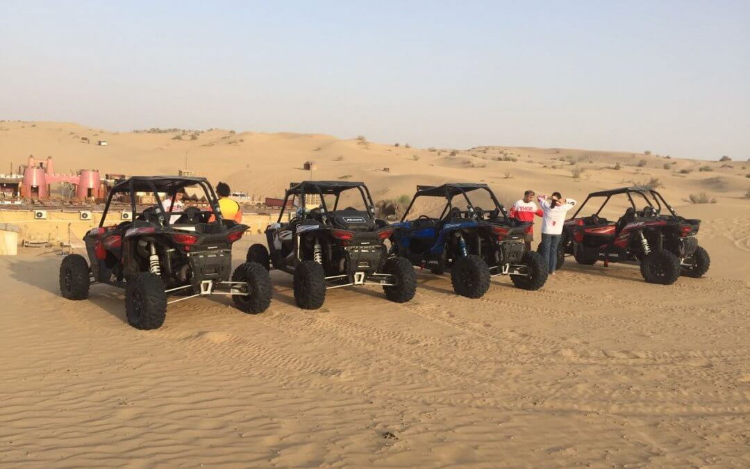 Dunes Of Dubai And Buggy Ride Are The Best Combination