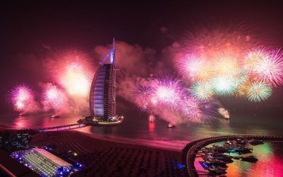 The New Year In Dubai